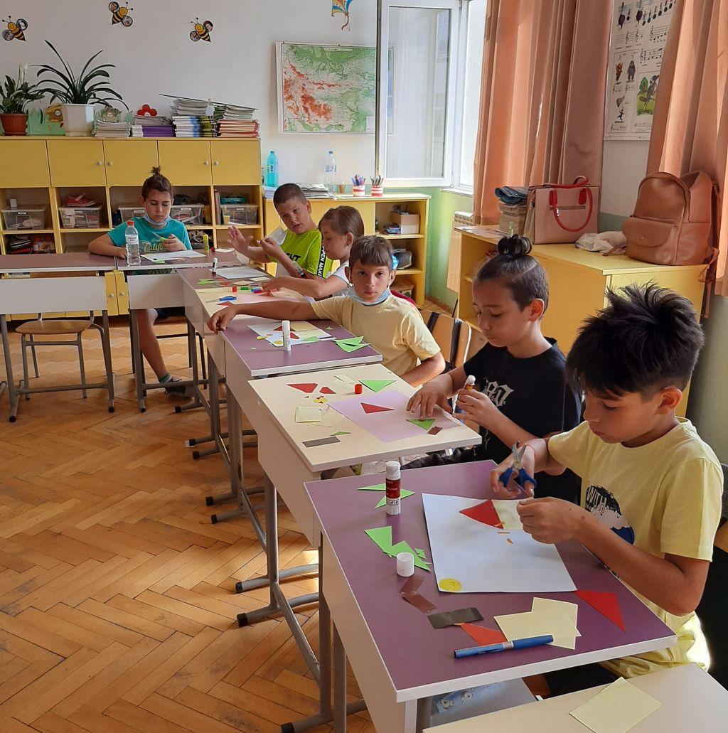 Математическа работилница в трети клас - голяма снимка