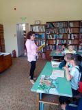 "Посещение в библиотека ""Йордан Радичков"" на най-малките ученици - 1 ОУ Никола Й. Вапцаров - Берковица"