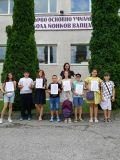 Финал на учебната 2020 - 2021 година за учениците в прогимназиален етап - 1 ОУ Никола Й. Вапцаров - Берковица