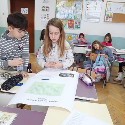 Работа по групи в трети клас 11