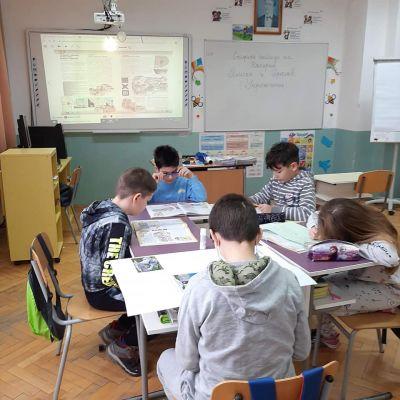 Работа по групи в трети клас 6