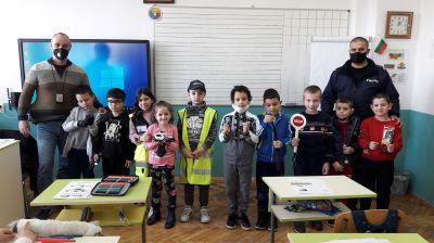 Уроци по БДП с участието на служители от РУ на МВР - Берковица 11