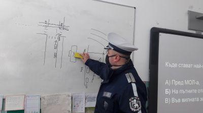 Уроци по БДП с участието на служители от РУ на МВР - Берковица 1